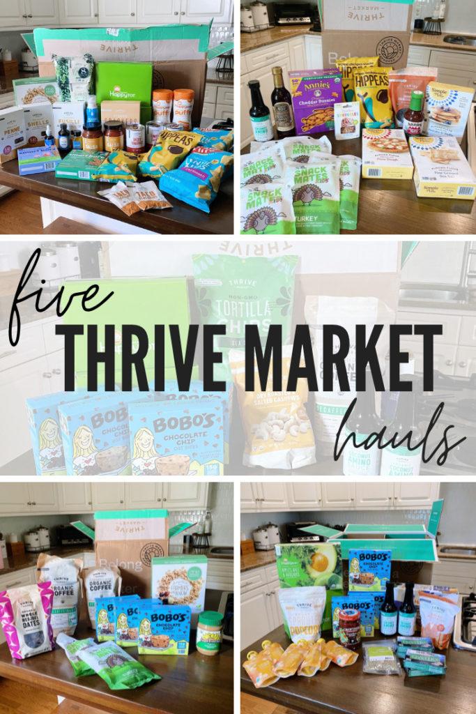 Thrive Market Hauls