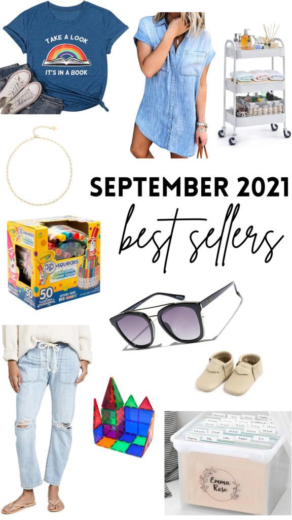 september 2021 best sellers