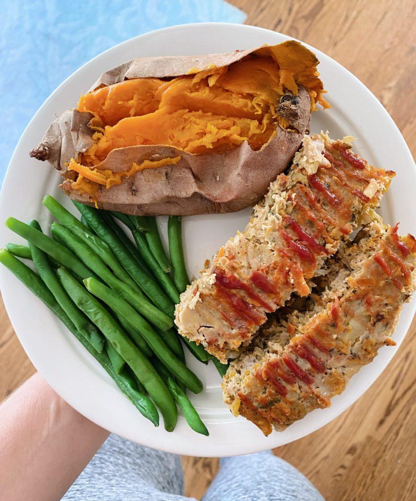 turkey vegetable meatloaf