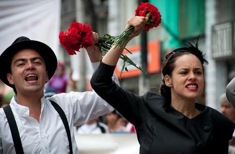 movimiento social movement peace paz