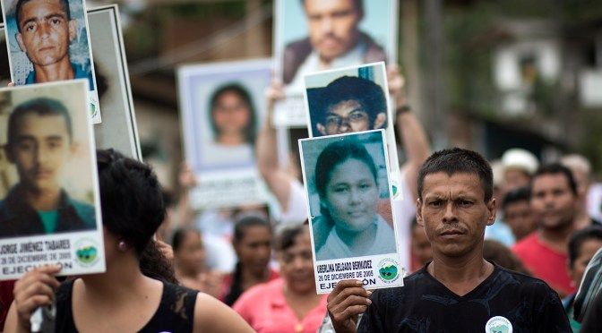 Concern about the murder of human rights defenders in Colombia