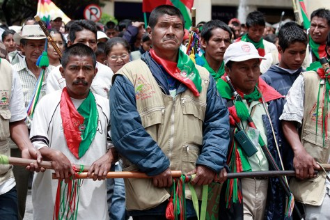 marcha indígena 2010
