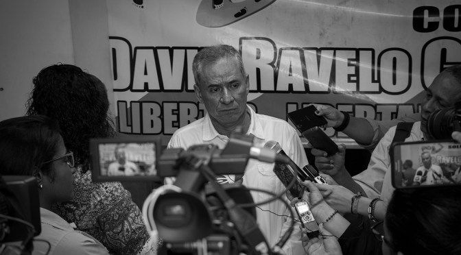 David Ravelo is freed after nearly seven years in prison