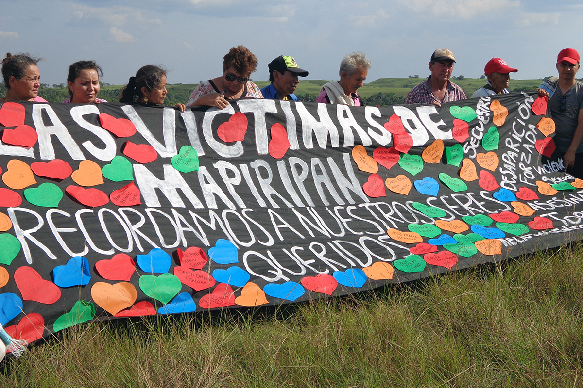 Twenty years since the Mapiripán massacre, twenty years of memory