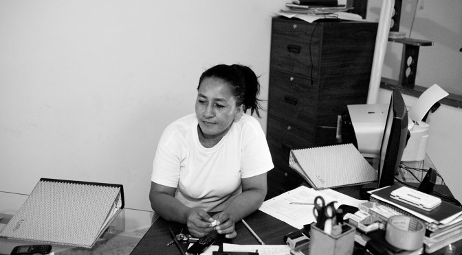 Lilia Peña, an awesome defender