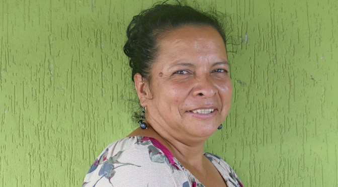 """""""We have to keep our wits about us and defend health, education and life"""": Ninfa Cruz"""