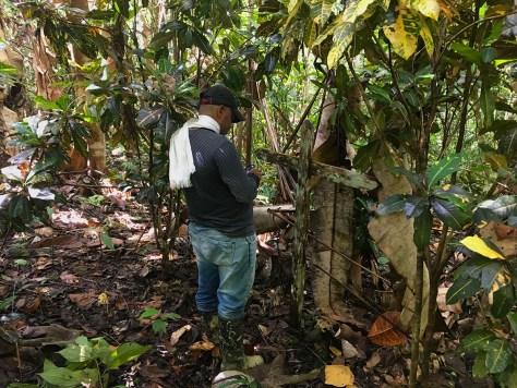 Andres ortiz registrando coordenadas de la fosa_blog