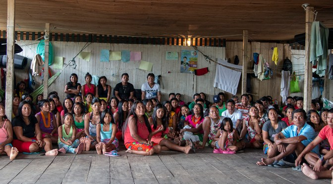 The Pichimá Quebrada Wounaan Community Asks to Return to its Territory