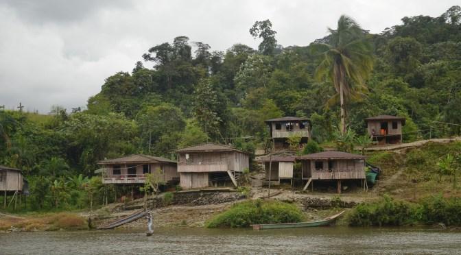 Acompañamiento en el río Naya