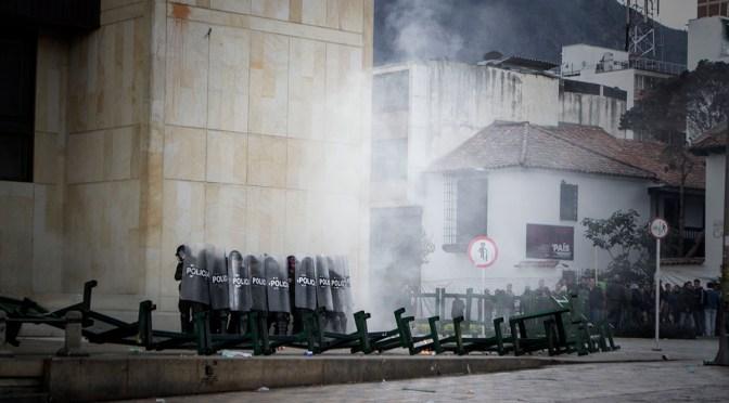 Criminalización de la protesa social