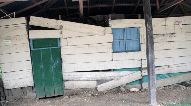 Desde el Refugio Humanitario Puerto López