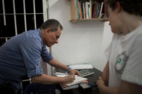 David Ravelo en la cárcel