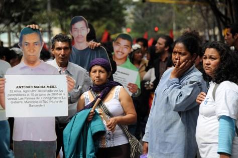 asesinato líderes, marcha MOVICE en Bogotá