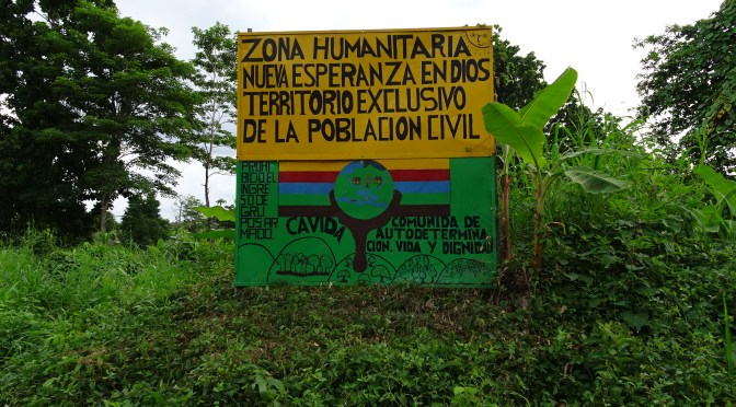 CAVIDA, proceso de resistencia no-violento, por una vida digna en el territorio