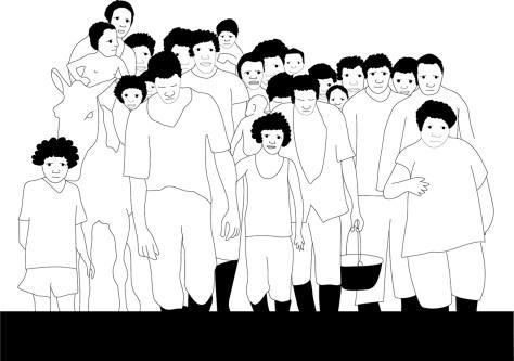 Ilustracion por cuadro