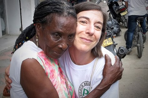 con Maria Ligia en Apartadó