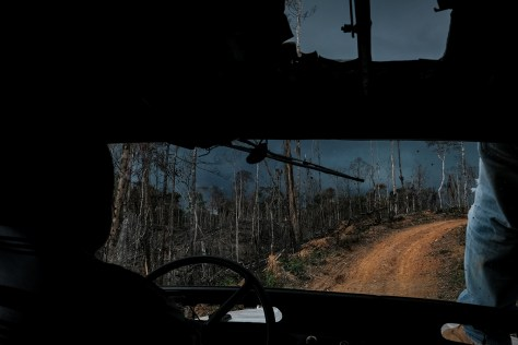 The road from Remedios to Lejanias. Photo: Caldwell Manners/ECAP
