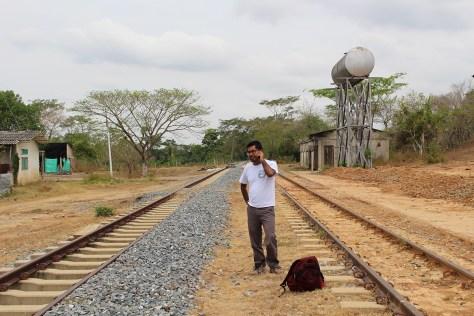 brigadista reportandose, Aguachica, marzo 2017