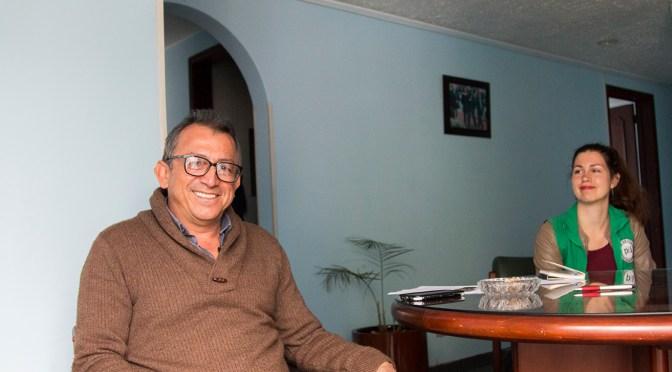 """Daniel Prado: """"Lamentablemente, recibir amenazas hace parte de nuestro compromiso con la vida y la dignidad de nuestro país"""""""
