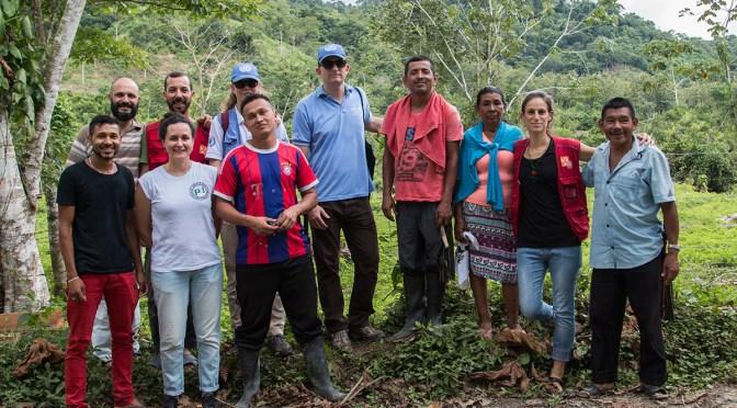 Visita de Naciones Unidas a la Comunidad de Paz de San José de Apartadó