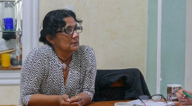 """""""Los derechos humanos siempre estarán en disputa"""": Olga Araújo"""
