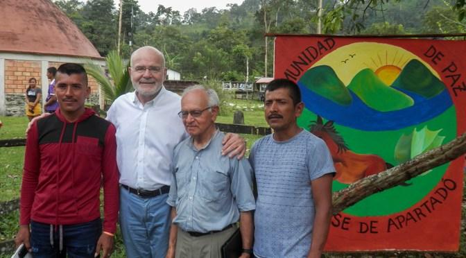 Llevar la voz: las preocupaciones de la Comunidad de Paz de San José de Apartadó a la comunidad internacional