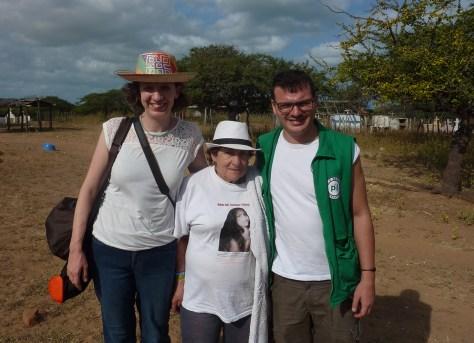 Enero 2018 acompañamiento Doña Blanca La Guajira
