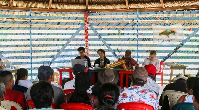 Audiencia histórica de la JEP en Cacarica
