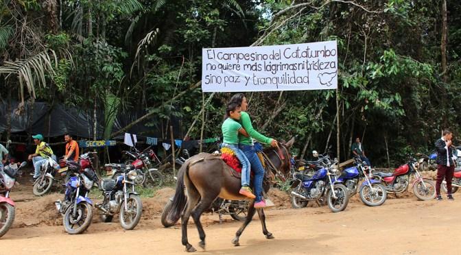 2006: Colectivo de abogadas acompañan la resistencia en el Catatumbo