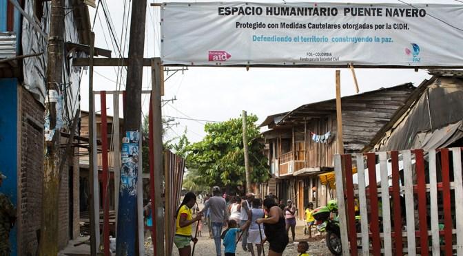 2014: El primero espacio humanitario en contexto urbano en el mundo