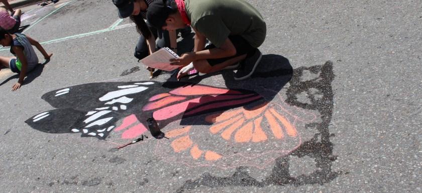 chalk art festival
