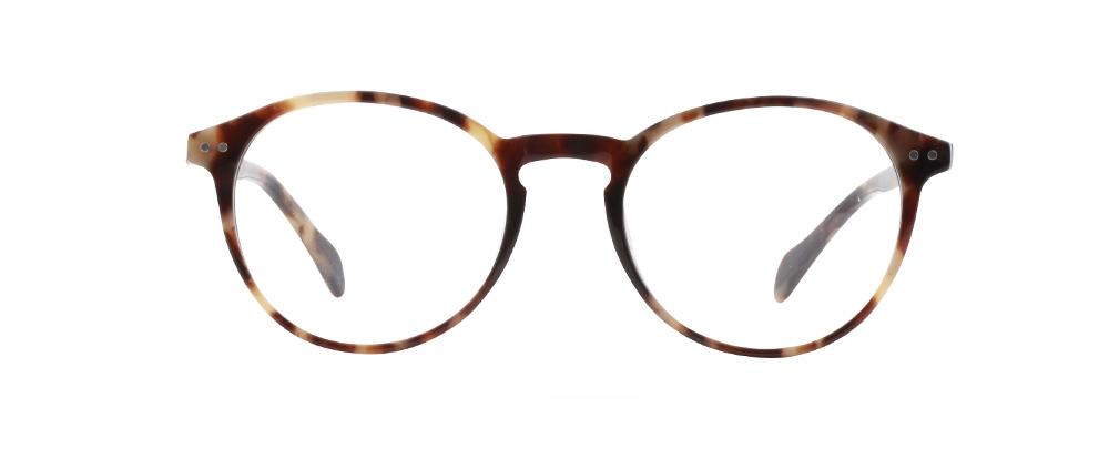 San Jose bril in het bruin