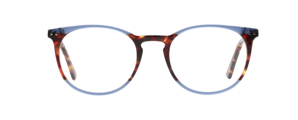Montreal bril in het blauw