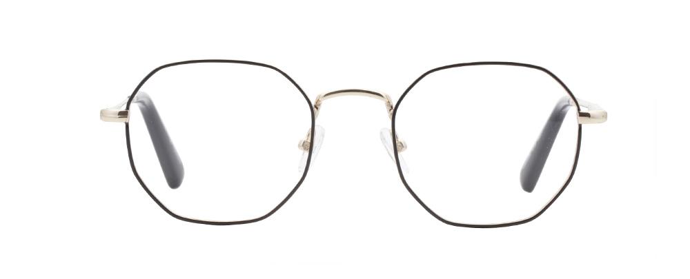 Sydney bril in het zwart goud
