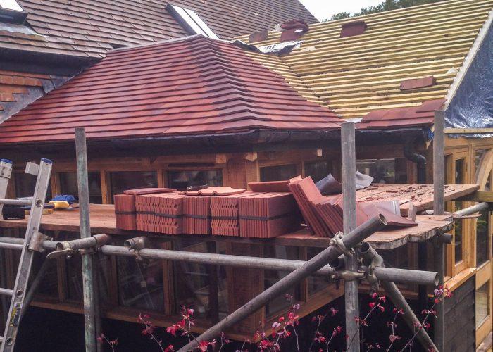 Sunroom Roof by Builders in Newbury