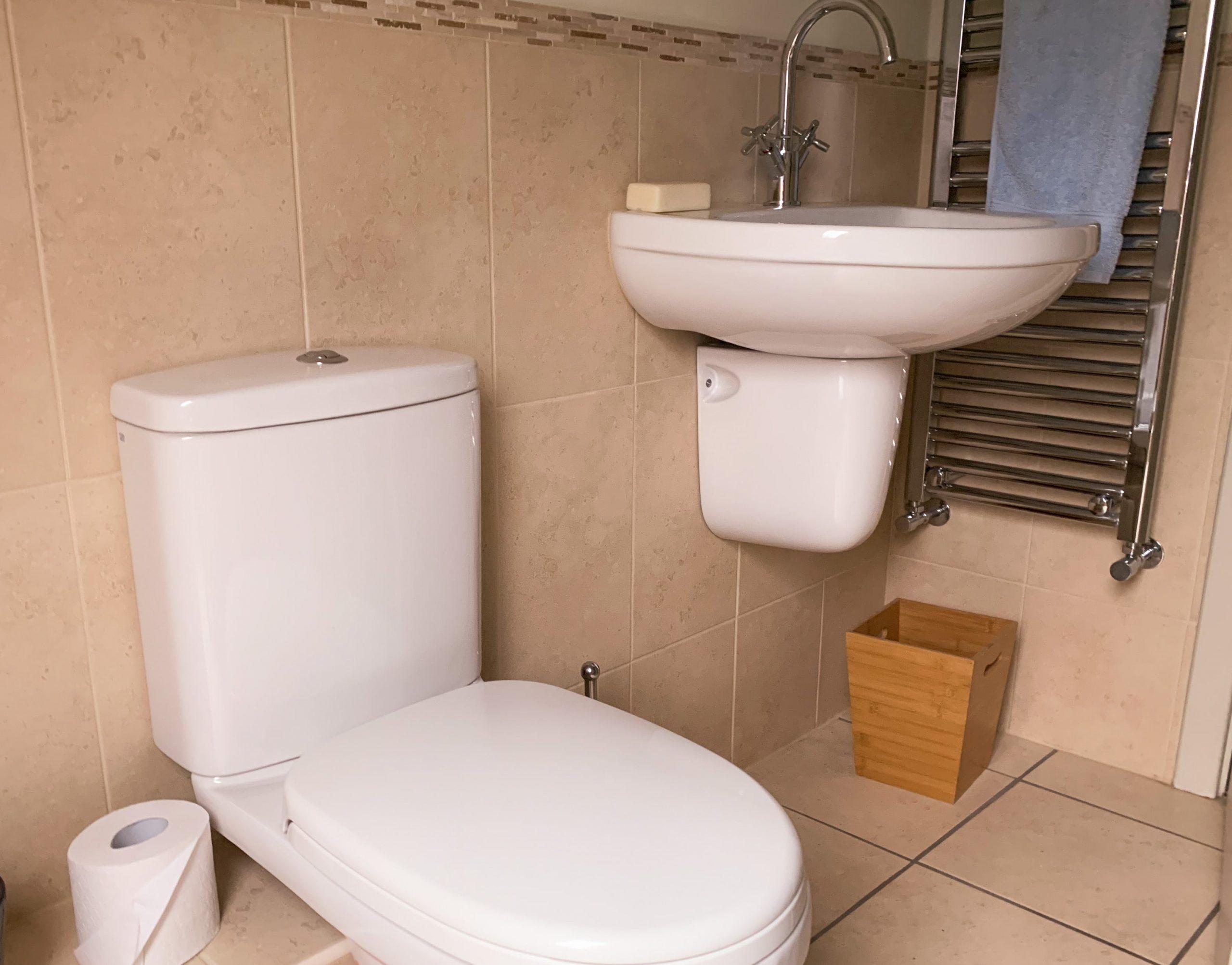 Toilet & Sink by Builders in Newbury