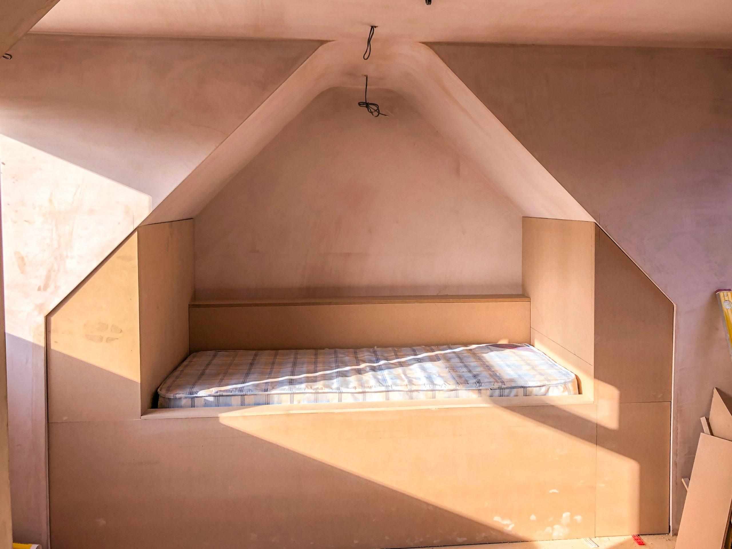 Bespoke Bed Station by Builders in Newbury