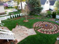Garden View With Fresh Mulch-2