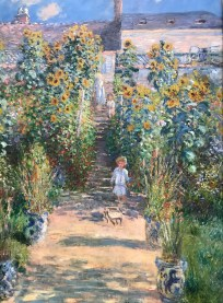 The Artist's Garden at Vétheuil, Claude Monet