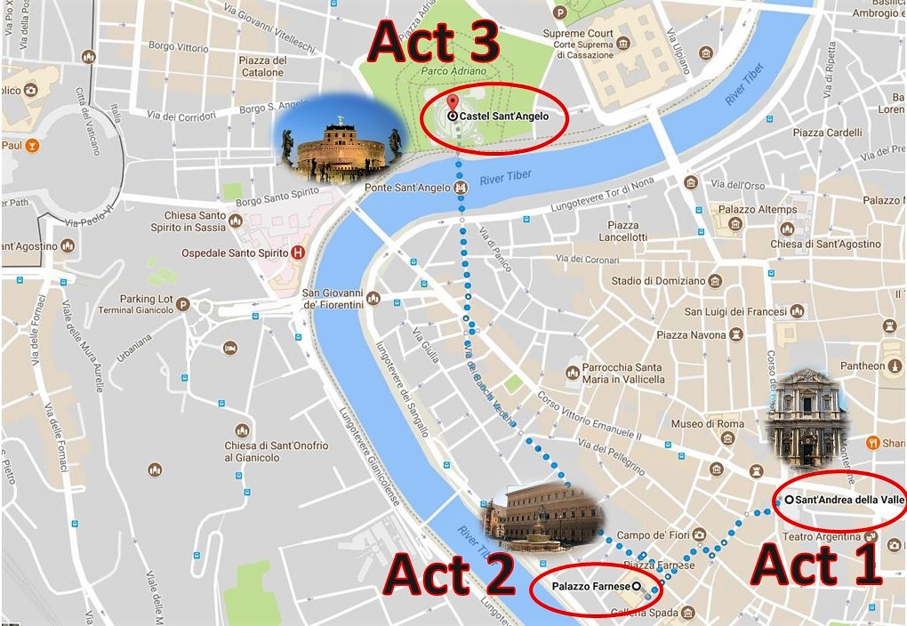 Rome in the Time of Tosca