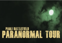 Fall Paranormal Tour - October 8th - 6pm to 11pm at the Paoli Battlefield in Malvern PA. Click on picture for more info.