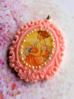 Mucha Recycled Cameo Necklace