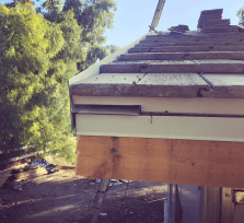 Custom edge metal installed - Los Angeles roofing