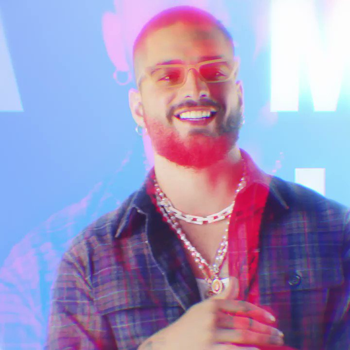 Image for the Tweet beginning: .@maluma talks about life, the