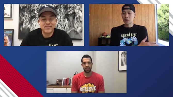 Jeremy Lin (@JLin7) reflects on his experiences with anti-Asian racism and his journey to advocacy.    Tune in to @NBA Twitter at 4pm ET to see the full #AAPIHeritageMonth Roundtable with @ATLHawks Assistant GM @LandryFields and @thehundreds co-founder Bobby Kim (@bobbyhundreds).