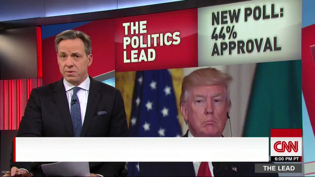 New CNN/ORC poll shows Trump holding on to the lowest approval rating of any newly elected president at this stage https://t.co/Hbpxe2jBNQ
