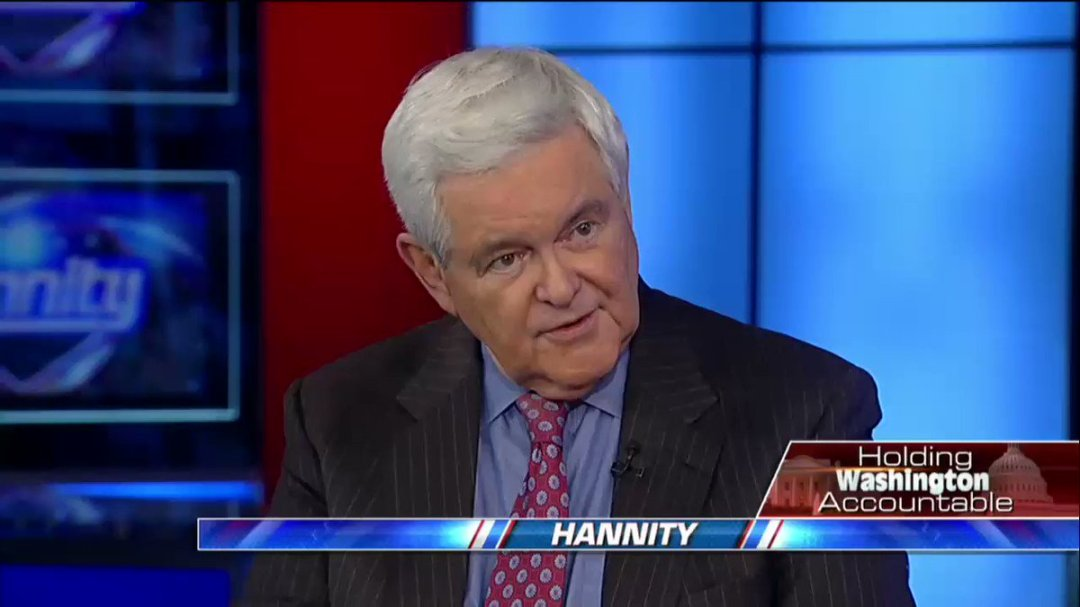 """.@NewtGingrich: """"I worry about deficit neutrality, not revenue neutrality."""" #Hannity"""
