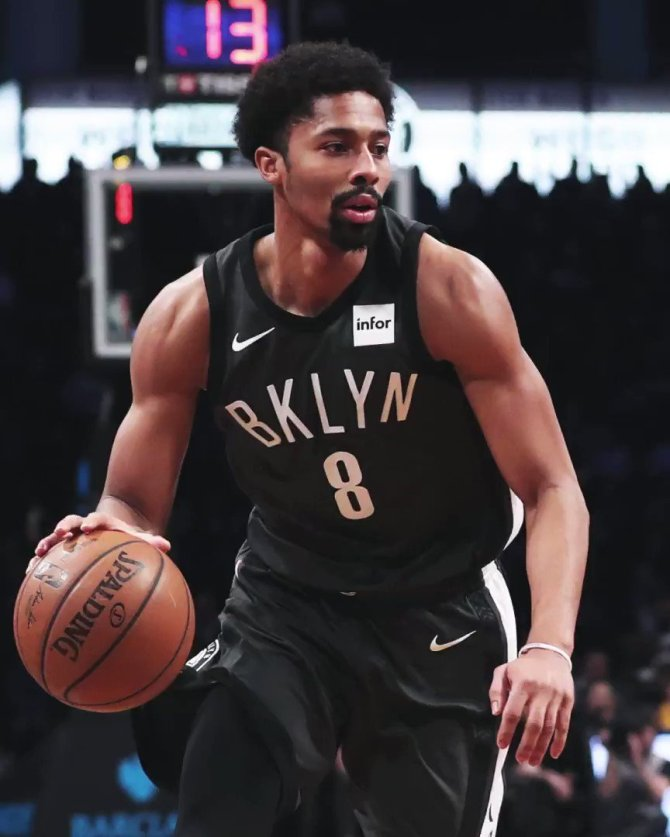 RT @bycycle Spencer Dinwiddie got cut twice and sent to the G-League five times.  Now he's ballin' out and getting more #NBAVote tweets than some superstars.