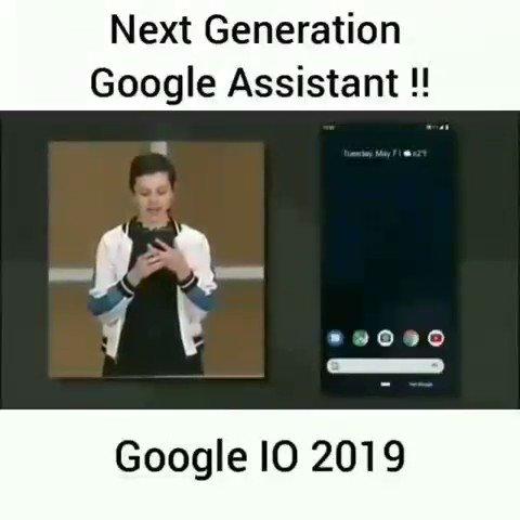 Image for the Tweet beginning: Google IO 2019! Incredible!🙌Amazing Contextual