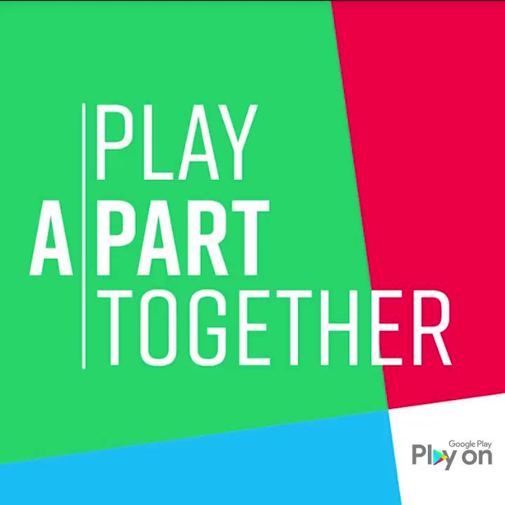 Image for the Tweet beginning: #PlayApartTogether is all about bringing